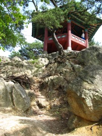 Rocher des fleurs tombées - Buseosansong