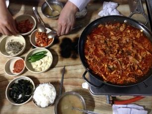 Jeju-shi - le plat dont je ne retrouve pas le nom