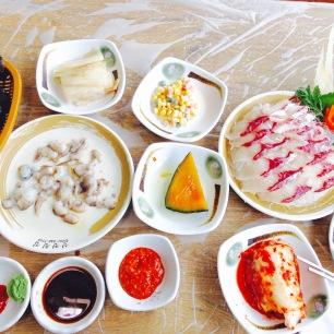 Busan - Marché de Jalgachi - Mon déjeuner