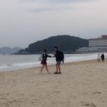 Busan - plage Haeundae